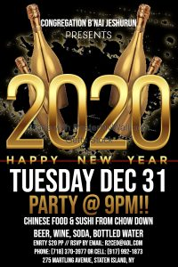 2020 New Years Party